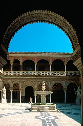 Casa Pilatos. Seville. Spain : Stock Photo