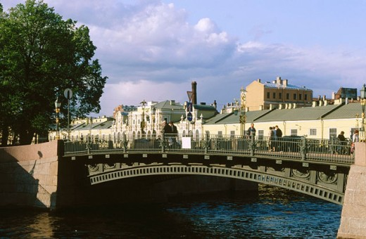 Stock Photo: 1566-078975 Canals in St Petersburg, Russia