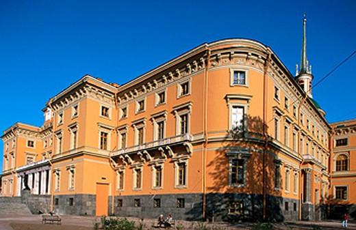 Stock Photo: 1566-078982 The Mikhailovsky Castle (St Michael´s). St Petersburg, Russia