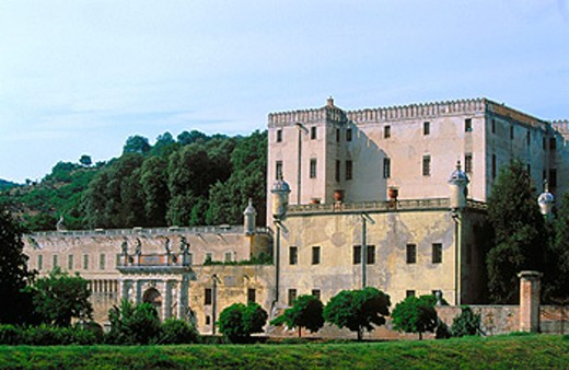 Cataio Castle (1570-72). Battaglia Terme. Veneto, Italy : Stock Photo