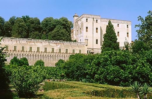 Cataio Castle (1570-72). Battaglia Terme. Veneto, Italy : Stock Photo