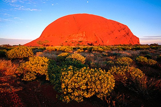 Stock Photo: 1566-079917 Ayers Rock. Uluru-Kata Tjuta NP. Australia