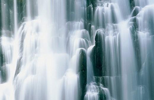 Marokopa Falls. Waitomo. New Zealand : Stock Photo