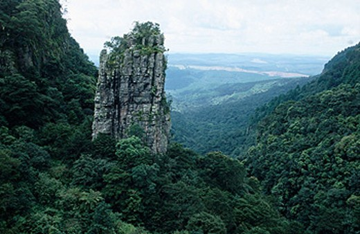 The Three Rondavels, Blyde River Canyon, near Graskop. Limpopo province, South Africa : Stock Photo