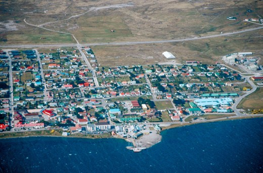 Stock Photo: 1566-085032 Stanley. Falkland Islands