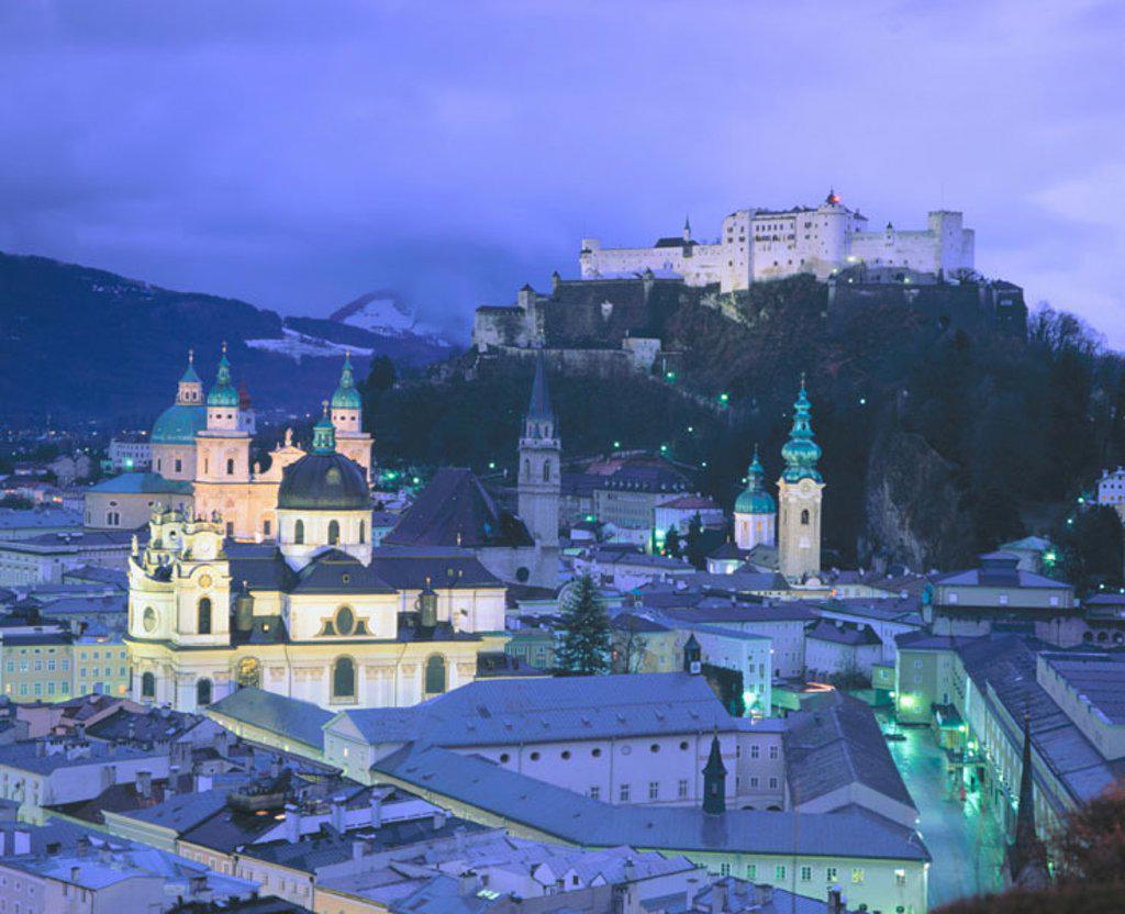 Stock Photo: 1566-089804 Salzburg. Austria.