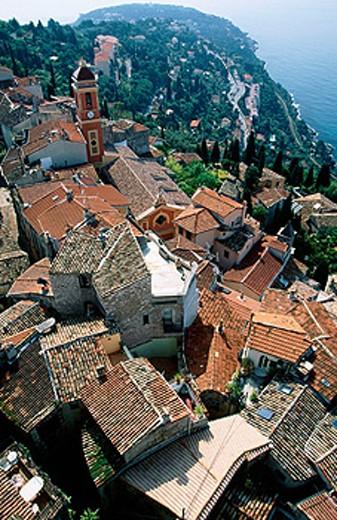 Stock Photo: 1566-089969 Roquebrune, Cap Martin. Cote d´Azur. Provence, France