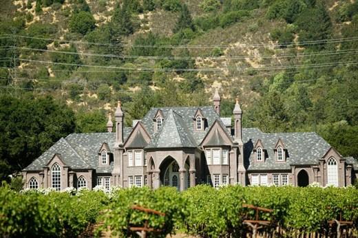 Ledson Winery in Kenwood. Sonoma Valley. California, USA : Stock Photo