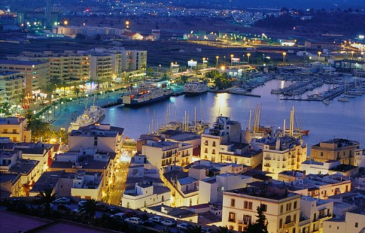 Harbor. Ibiza. Balearic Islands. Spain : Stock Photo