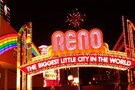 Reno. Nevada. USA : Stock Photo