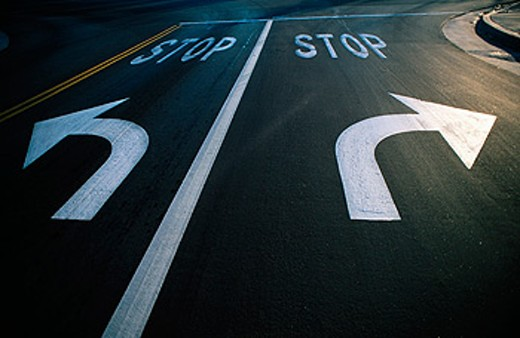 Street arrows : Stock Photo