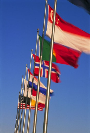 Stock Photo: 1566-098494 Flags