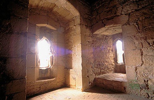 Stock Photo: 1566-098596 Interior of the Bodium Castle Tower. Tunbridge Wells. Kent. UK