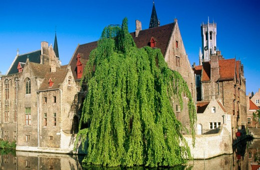 Stock Photo: 1566-098811 Brugges in Belgium