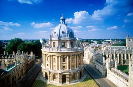 Radcliffe Camera. Oxford. England : Stock Photo