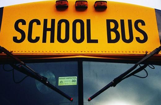 School bus : Stock Photo