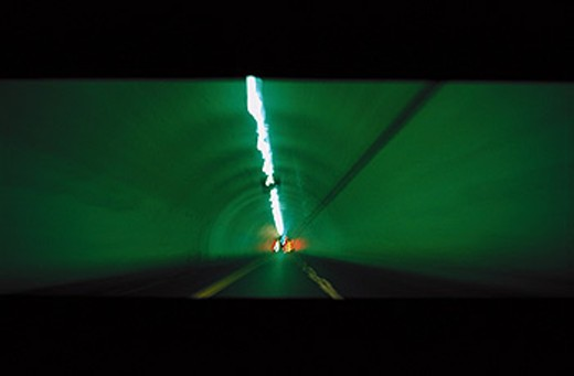 Stock Photo: 1566-099257 2nd Street tunnel. Los Angeles. USA