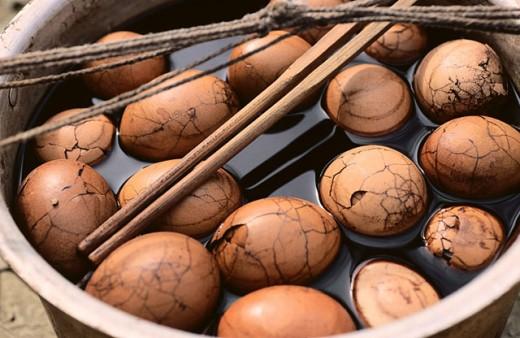 Duck eggs. China : Stock Photo