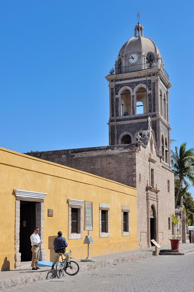 Stock Photo: 1566-1002591 Mexico, Baja California, Loreto, Mission Nuestra Senora de Loreto 1697