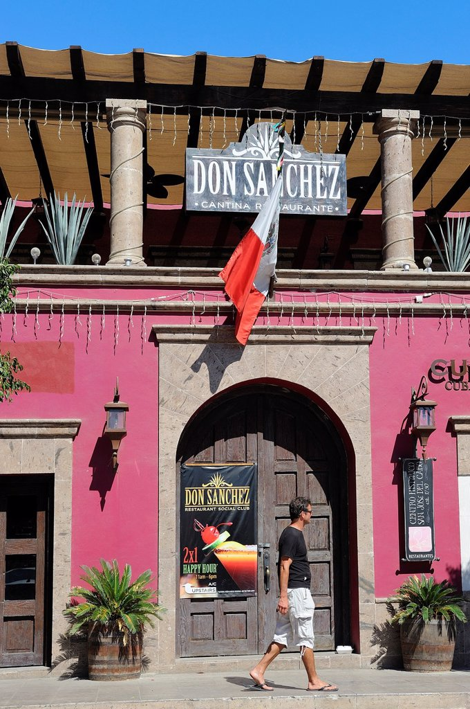 Stock Photo: 1566-1002650 Mexico, Baja California, San Jose del Cabo, Restaurant and bar Don Sanchez