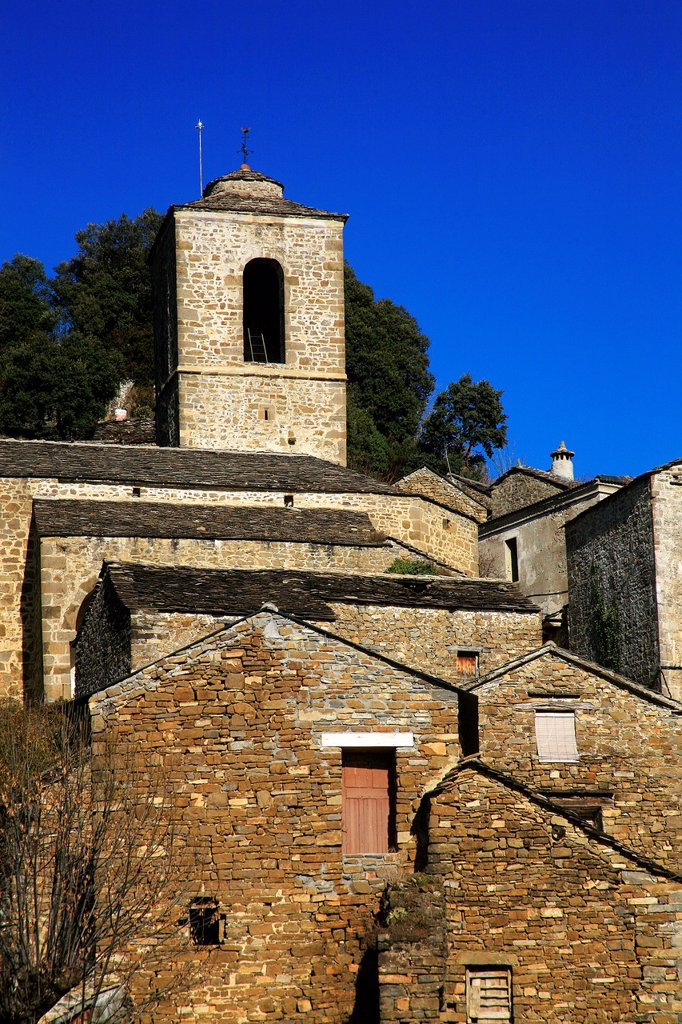 Stock Photo: 1566-1003416 Village Puértolas  National Park Ordesa