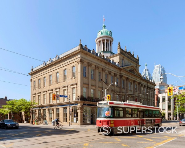 Stock Photo: 1566-1005142 St Lawrence Hall, Toronto