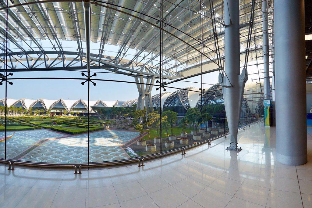 Stock Photo: 1566-1005753 Thailand - Suvarnabhumi International Airport in Bangkok
