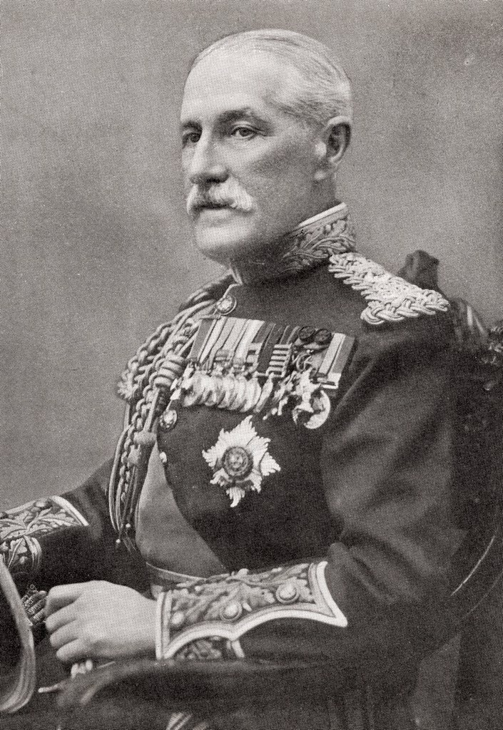 Stock Photo: 1566-1006964 General Sir Horace Lockwood Smith-Dorrien, 1858 – 1930  British soldier and commander  From The Year 1914 Illustrated