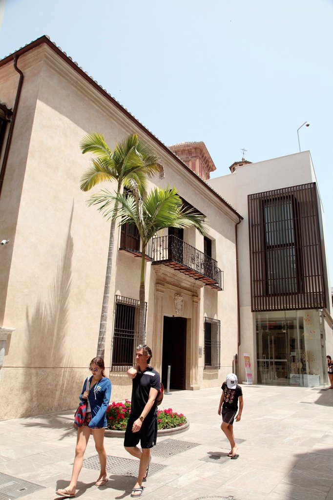 Carmen Thyssen Museum, Malaga, Andalucia, Spain : Stock Photo