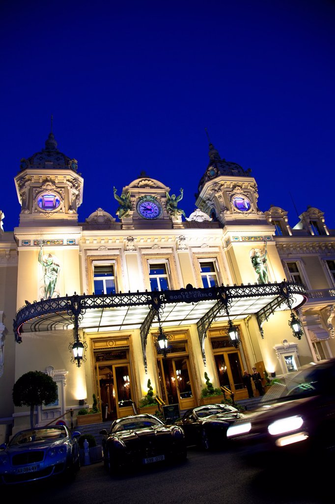 Stock Photo: 1566-1009665 Grand Casino of Monte Carlo, Principality of Monaco, Europe