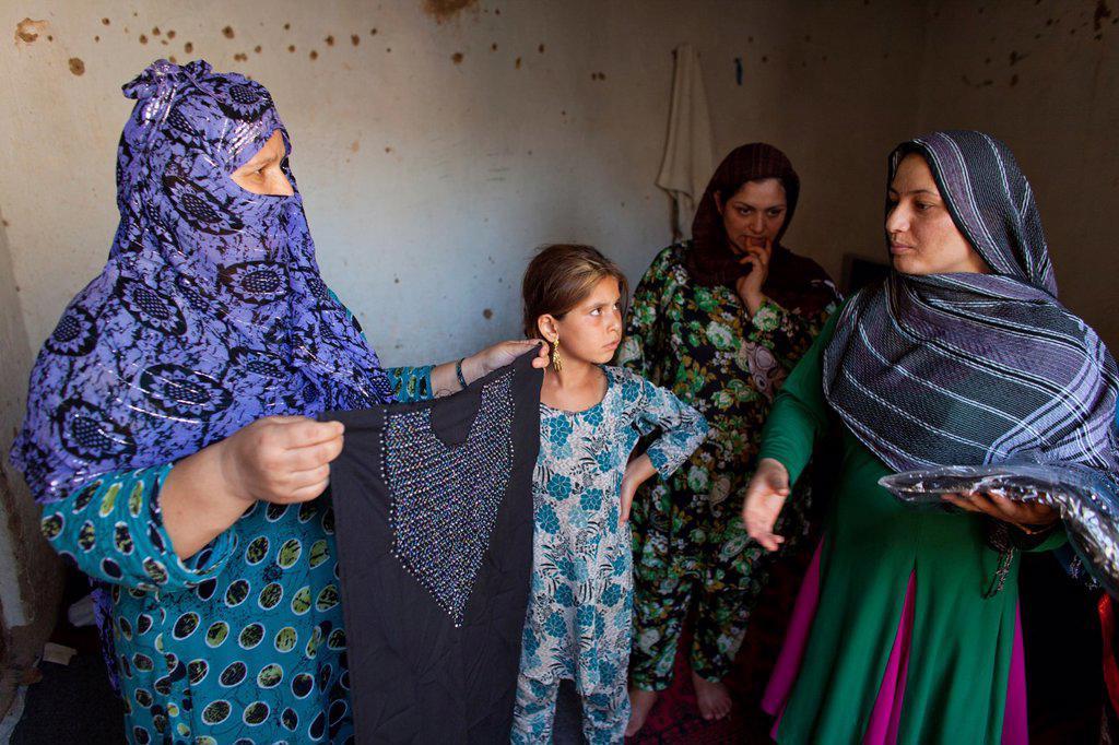 Stock Photo: 1566-1010630 female prison in Kunduz, Afghanistan