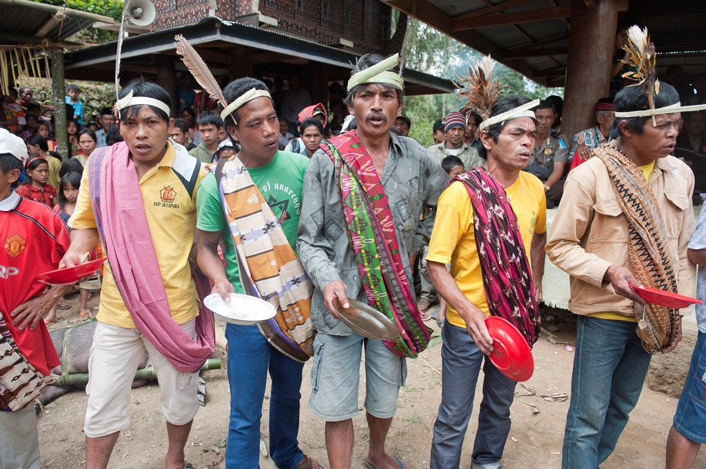 traditional funeral ceremony in Tana toraja, sulawesi,indonesia : Stock Photo