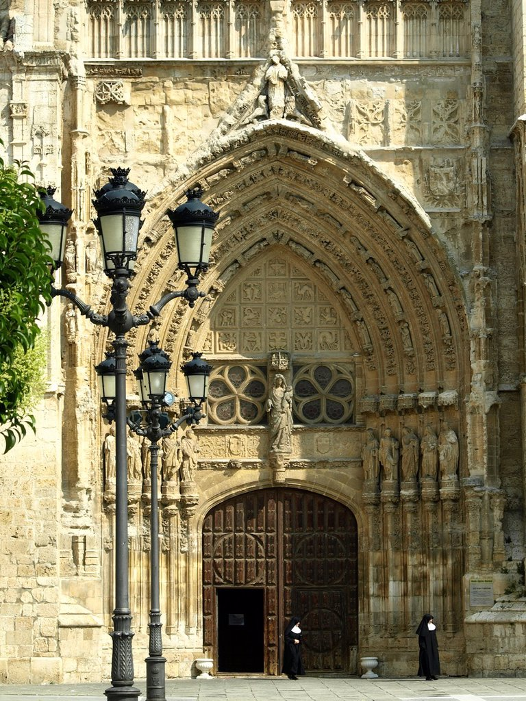 Stock Photo: 1566-1011088 The cathedral of Palencia