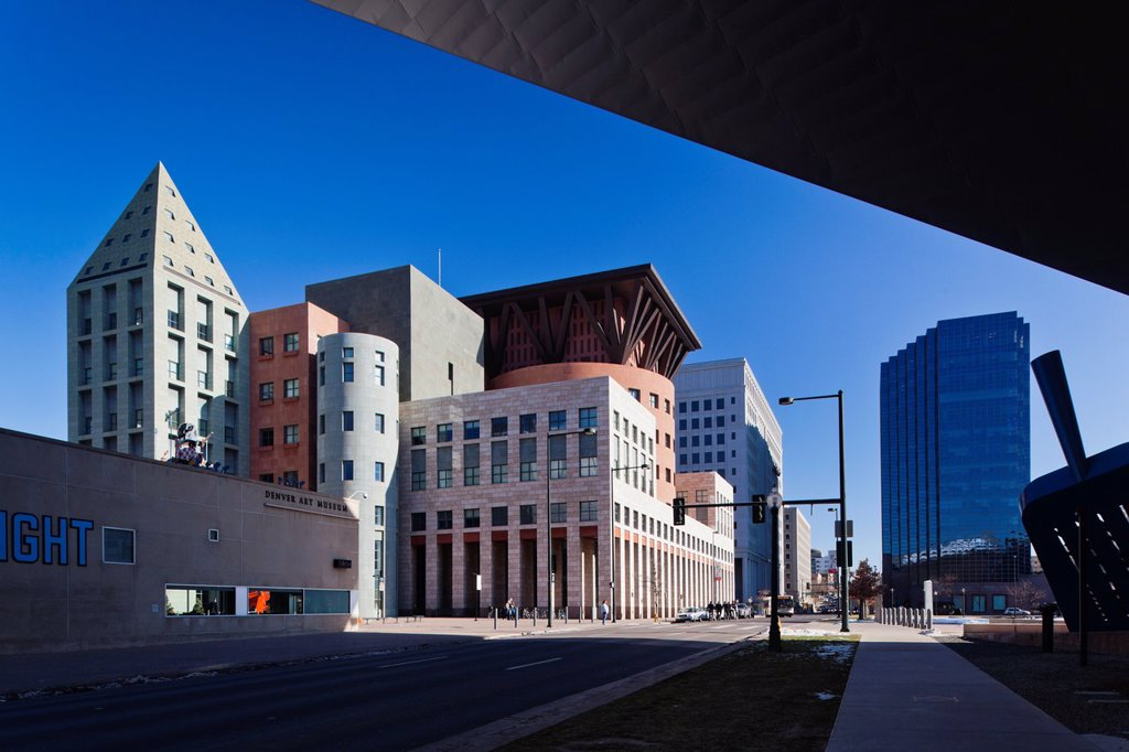 Stock Photo: 1566-1014965 USA, Colorado, Denver, Denver Public Library