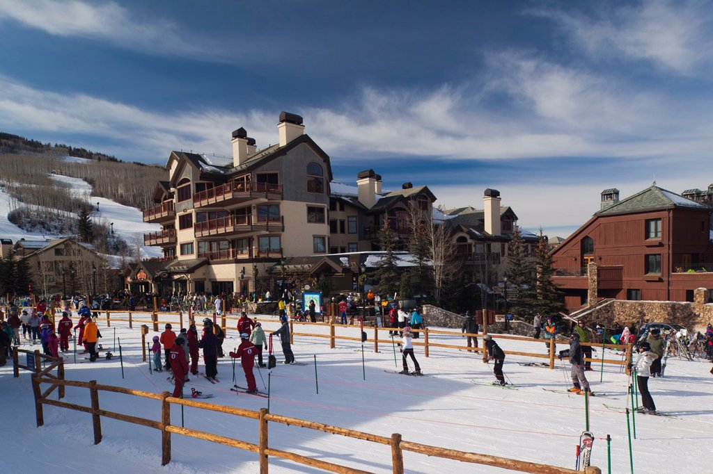 Stock Photo: 1566-1015135 USA, Colorado, Beaver Creek, Beaver Creek Ski Resort