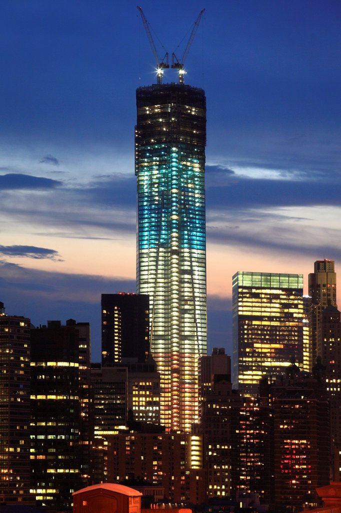 Stock Photo: 1566-1017407 World Trade Center, as part of World Financial Center, downtown, New York City