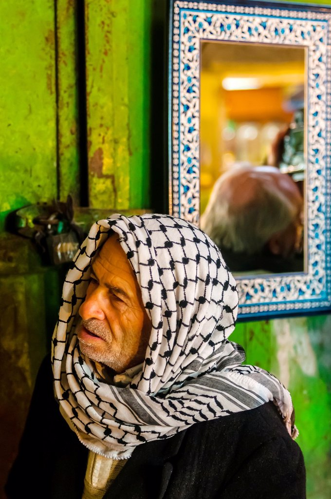 Stock Photo: 1566-1017705 Arab Souk, Old City, Jerusalem, Israel