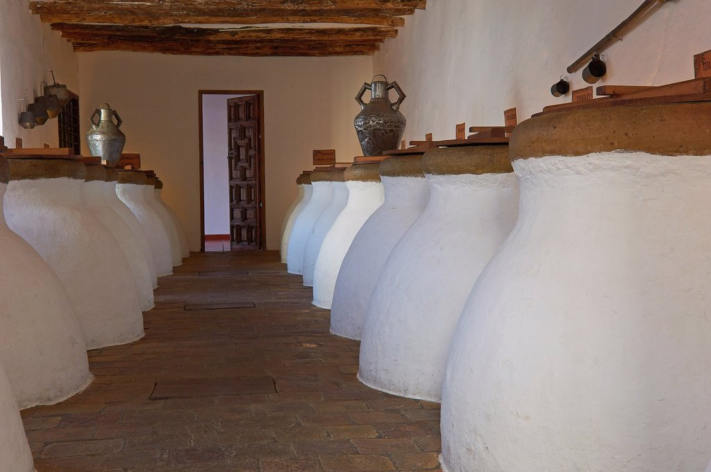 Stock Photo: 1566-1018737 Baena, Olive oil Cellar  Núñez de Prado, Route of the Caliphate, Cordoba province, Andalusia, Spain
