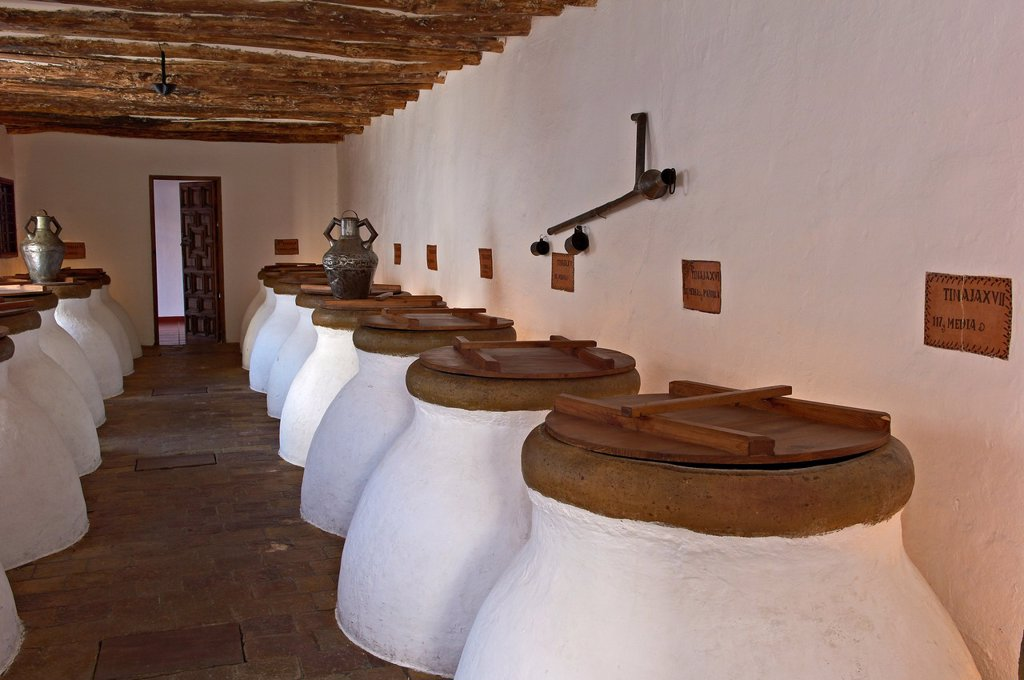Stock Photo: 1566-1018739 Baena, Olive oil Cellar  Núñez de Prado, Route of the Caliphate, Cordoba province, Andalusia, Spain