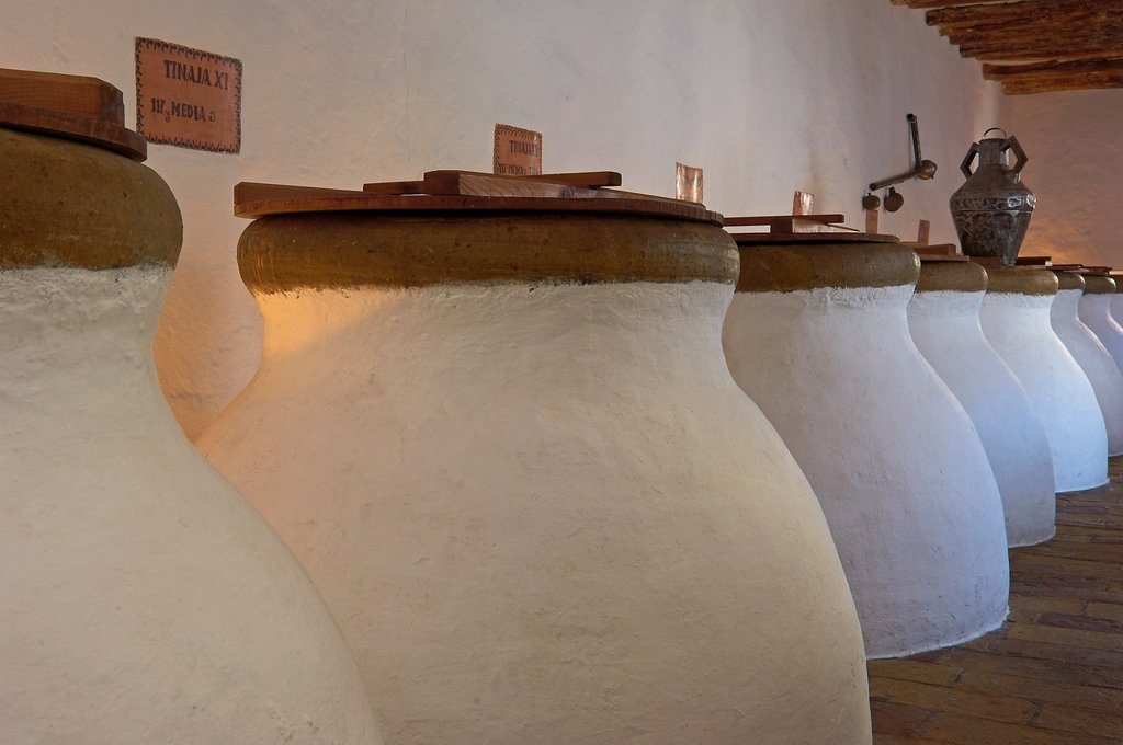 Stock Photo: 1566-1018742 Baena, Olive oil Cellar  Núñez de Prado, Route of the Caliphate, Cordoba province, Andalusia, Spain