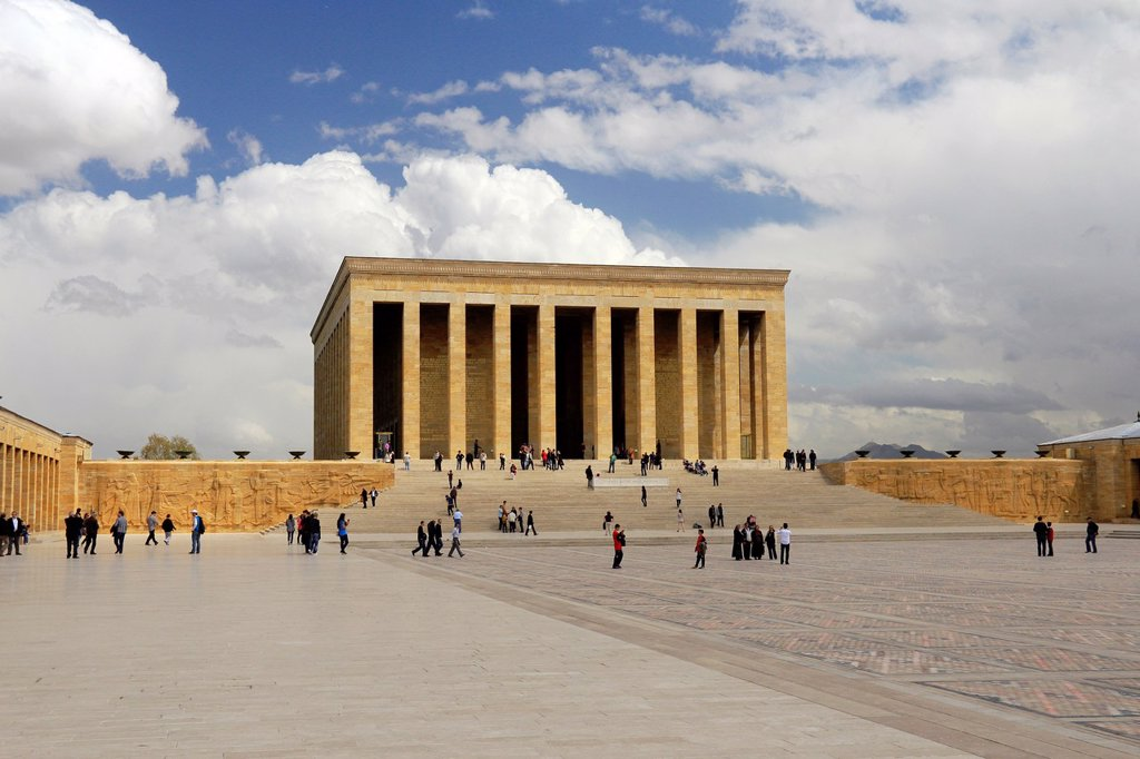 Stock Photo: 1566-1019425 Anitkabir, Ankara, Turkey