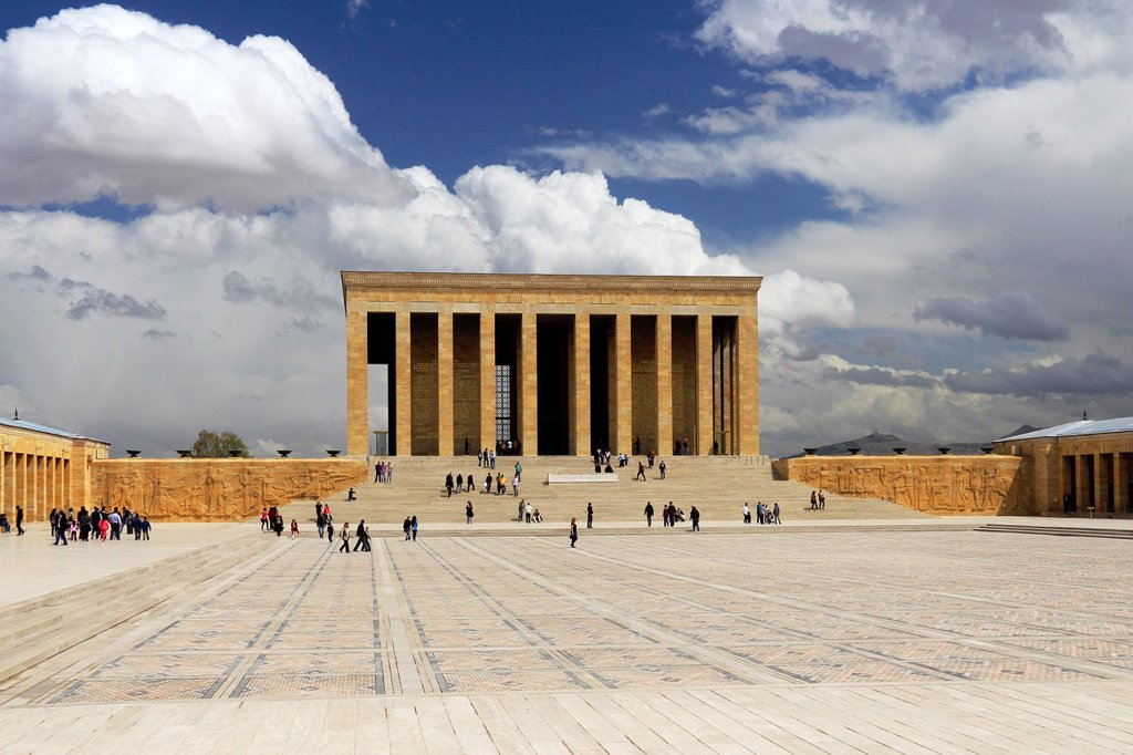 Anitkabir, Ankara, Turkey : Stock Photo