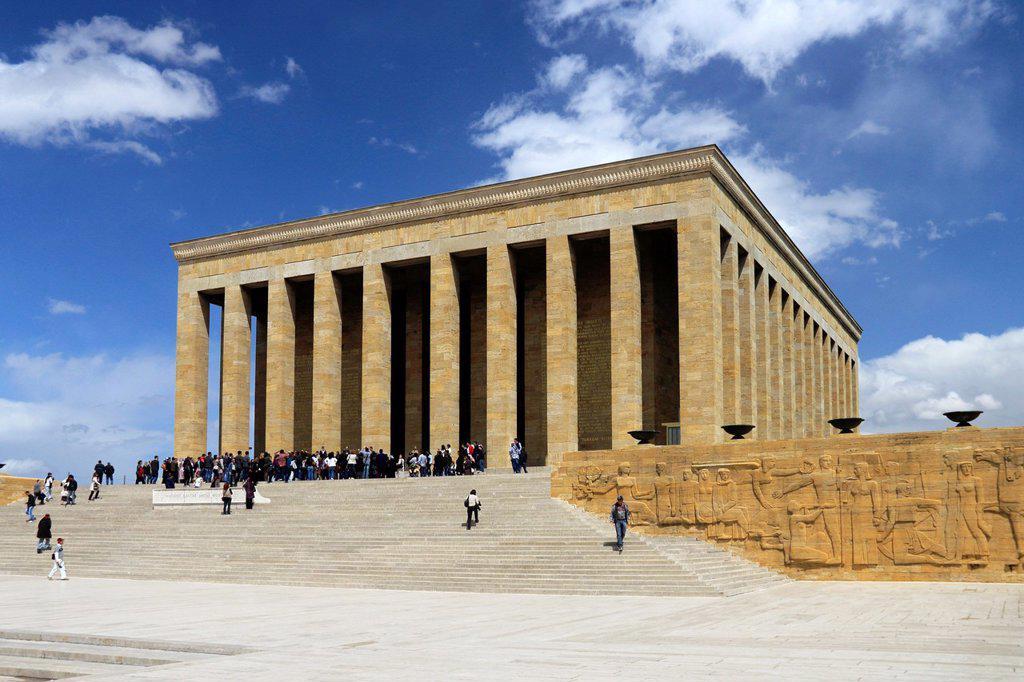 Stock Photo: 1566-1019427 Anitkabir, Ankara, Turkey