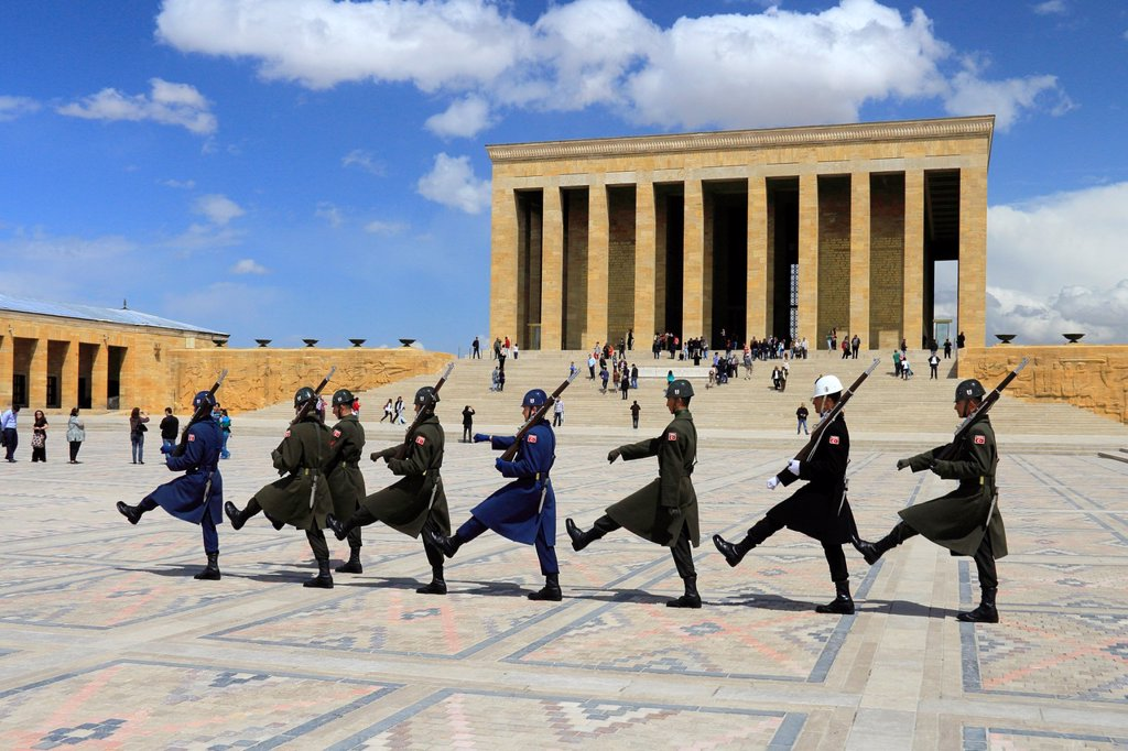 Stock Photo: 1566-1019428 Anitkabir, Ankara, Turkey