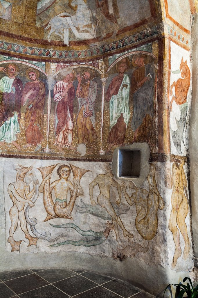 Stock Photo: 1566-1020815 Saint Jokab in Kastelaz, a unique little church in south Tyrol near Merano and Tramin Mystic creatures and Apostles The frescos are of international importance and are dating back to romanic and gothic times Especially the rendering of phantastic, hybrid. Saint Jokab in Kastelaz, a unique little church in south Tyrol near Merano and Tramin Mystic creatures and Apostles The frescos are of international importance and are dating back to romanic and gothic times Especially the rendering of phantast
