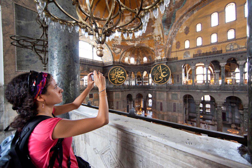 Stock Photo: 1566-1022185 Hagia Sophia Aya Sophia in Istanbul
