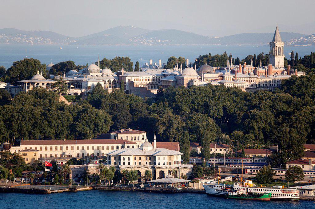 Topkapi palace, Istanbul : Stock Photo