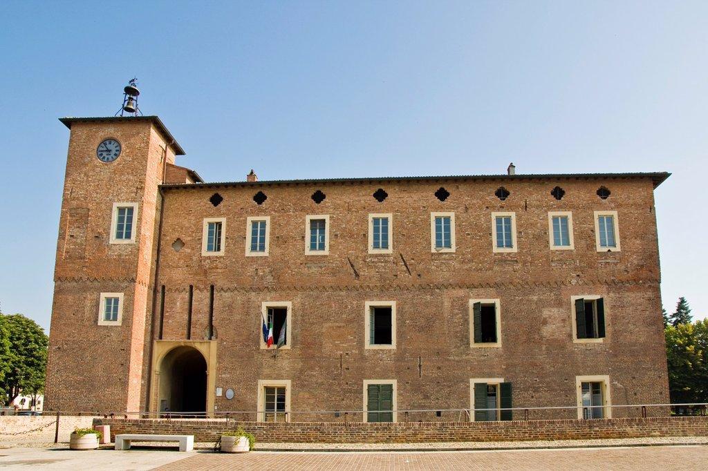 Stock Photo: 1566-1022416 Italy, Emilia Romagna, Borgonovo Val Tidone, Borgonovo fortress