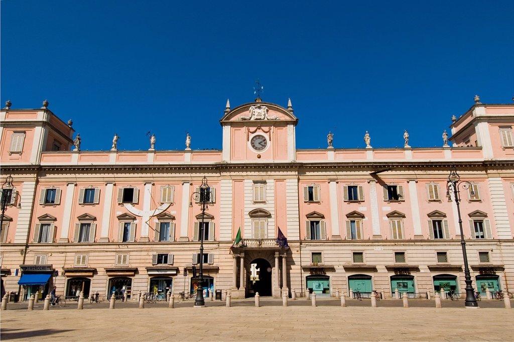 Stock Photo: 1566-1022436 Italy, Emilia Romagna, Piacenza, Governatore palace