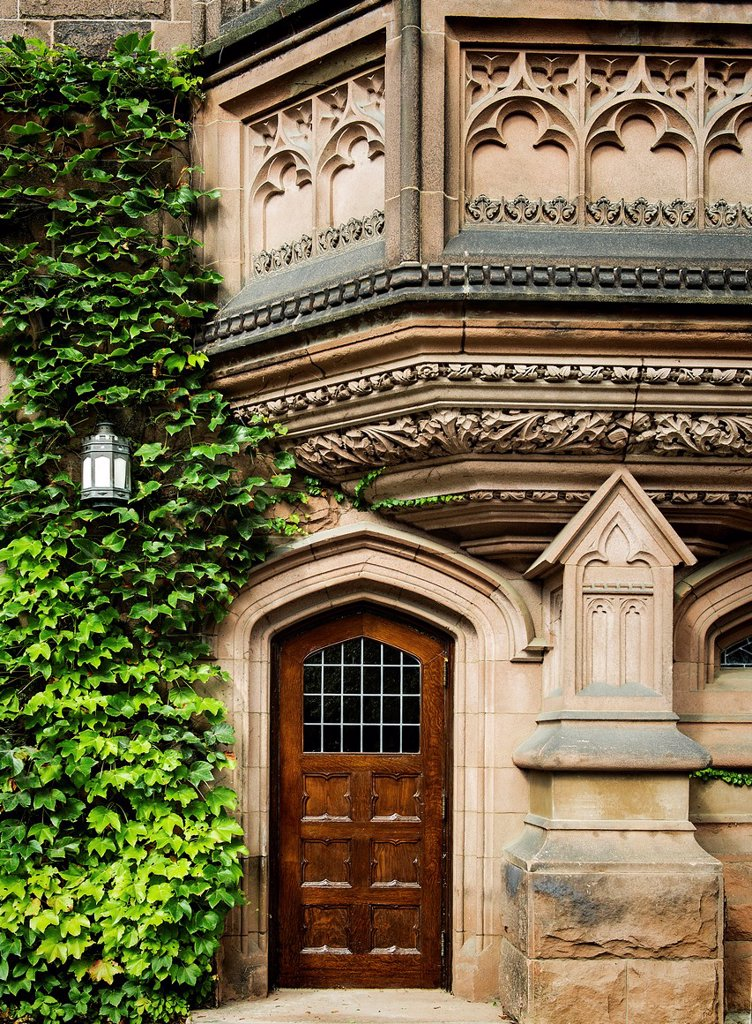 Stock Photo: 1566-1023122 Ivy League architecture, Princeton University, New Jersey, USA